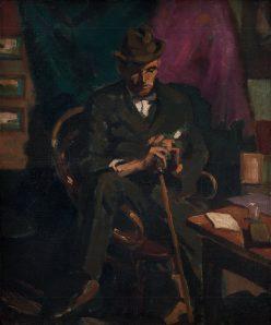 Edmund Gwerk - Muž s palicou