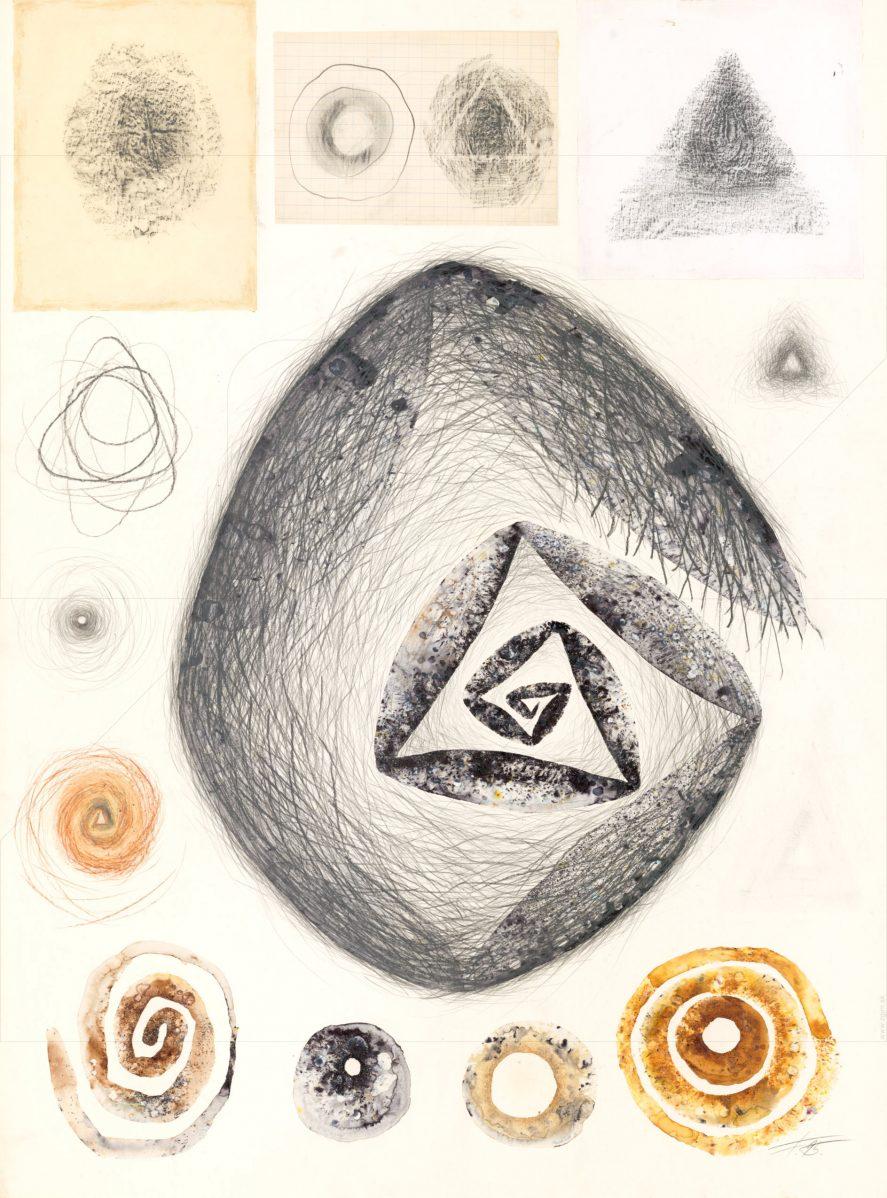 Milan Flajžík - Analógie tvaru - Kombinácia Kruh-Trojuholník