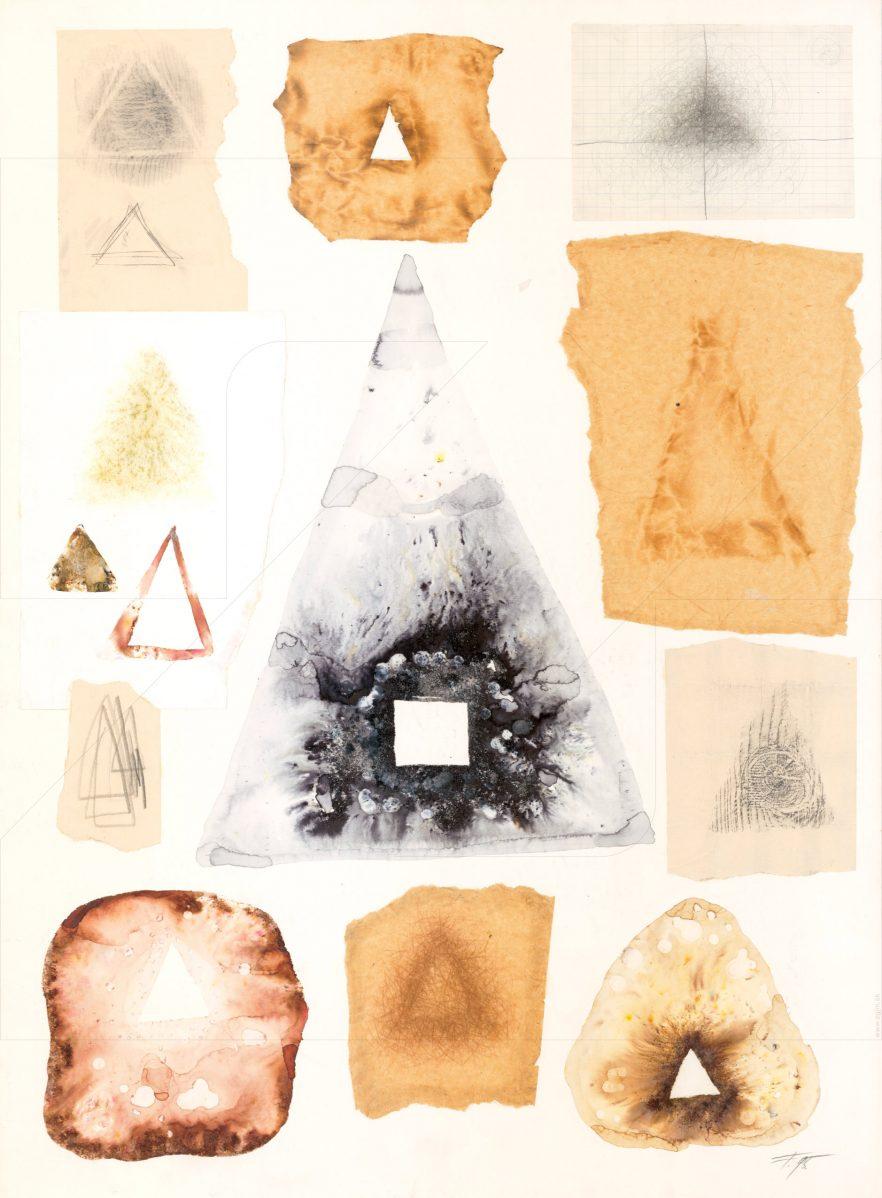 Milan Flajžík - Analógie tvaru - Trojuholník