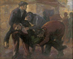 Anton Galko - Exekúcia