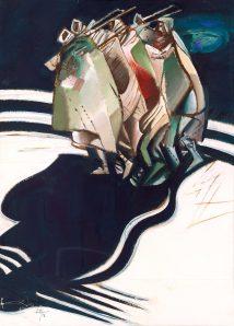 Ferdinand Hložník - Mrazivá noc