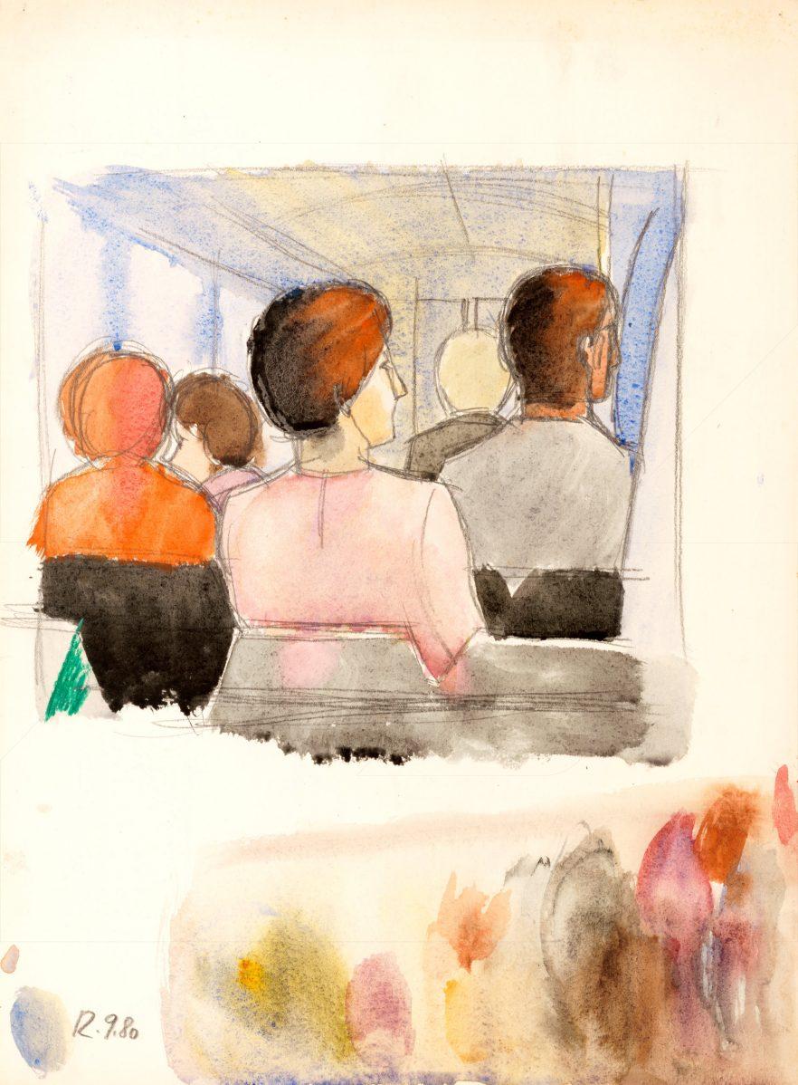 Ľudovít Hološka - V autobuse