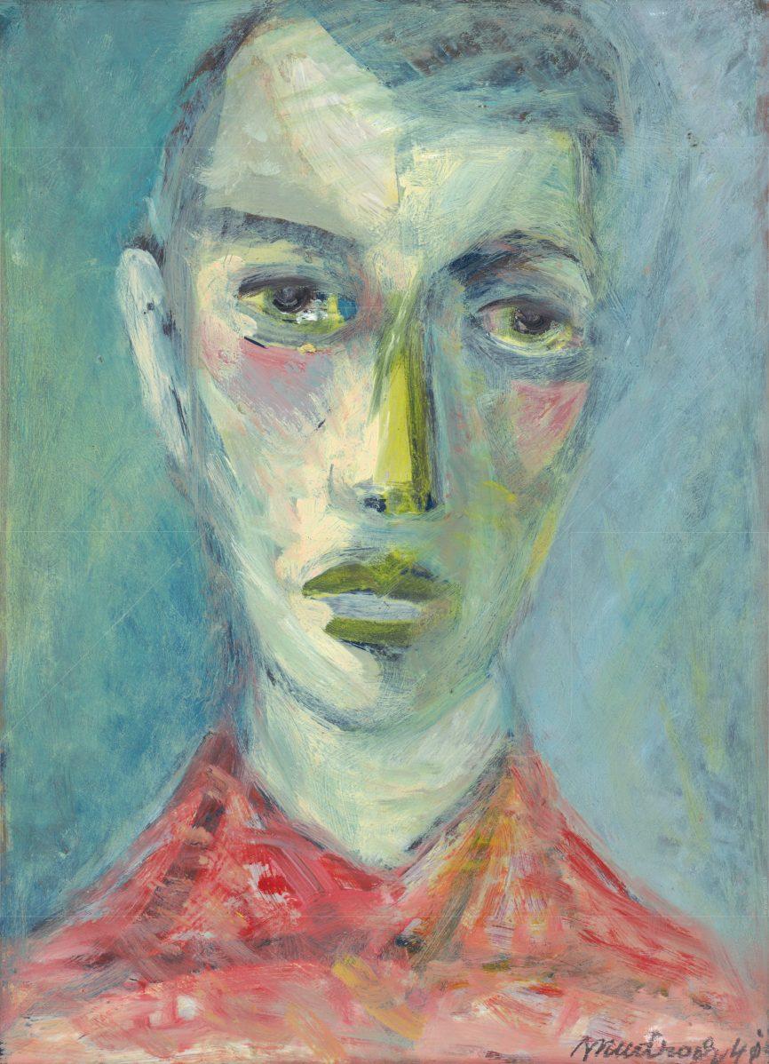 Ján Mudroch - Hlava mladého muža