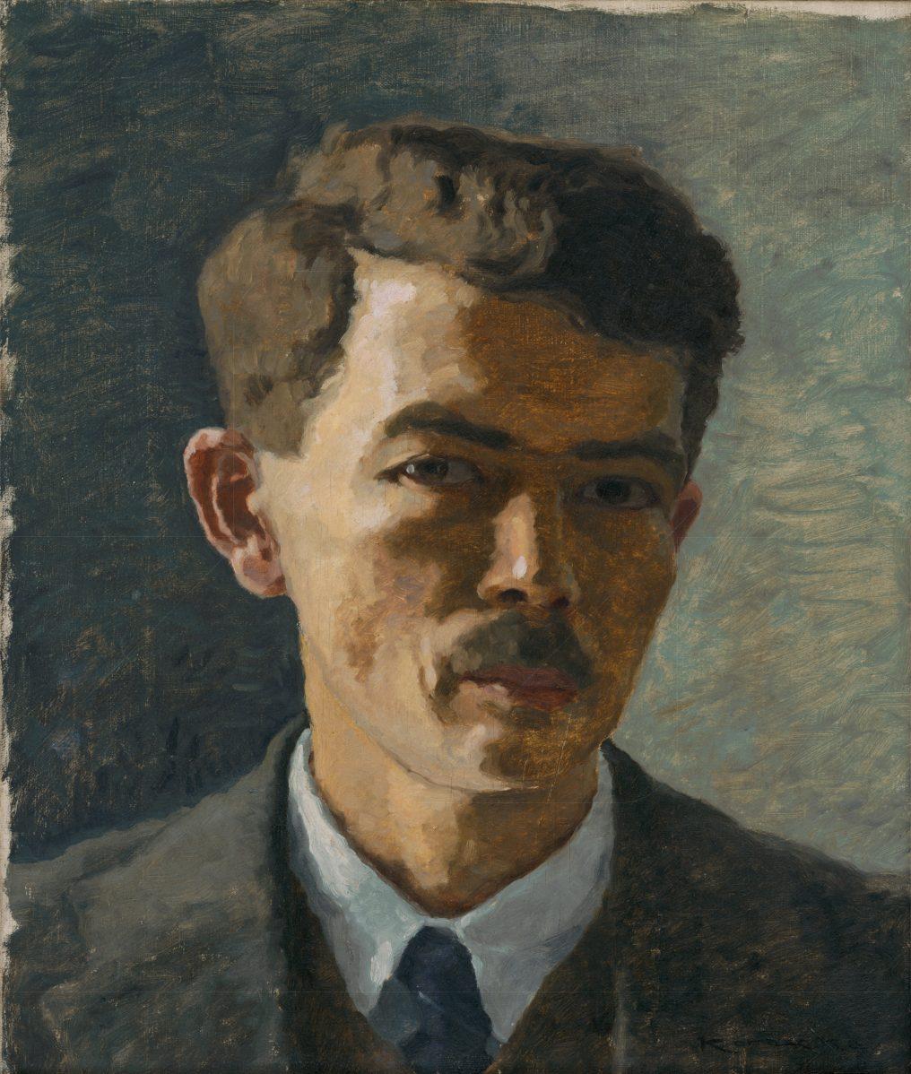 Július Koreszka - Autoportrét