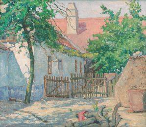 Július Koreszka - Dvorček v Skalici