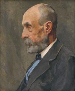 Július Koreszka - Portrét muža