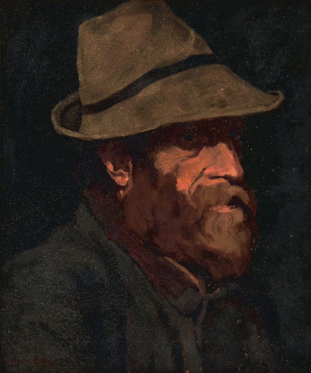 Július Koreszka - Portrét poľovníka