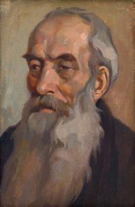Július Koreszka - Portrét starca
