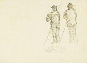 Július Koreszka - Dvaja muži zozadu