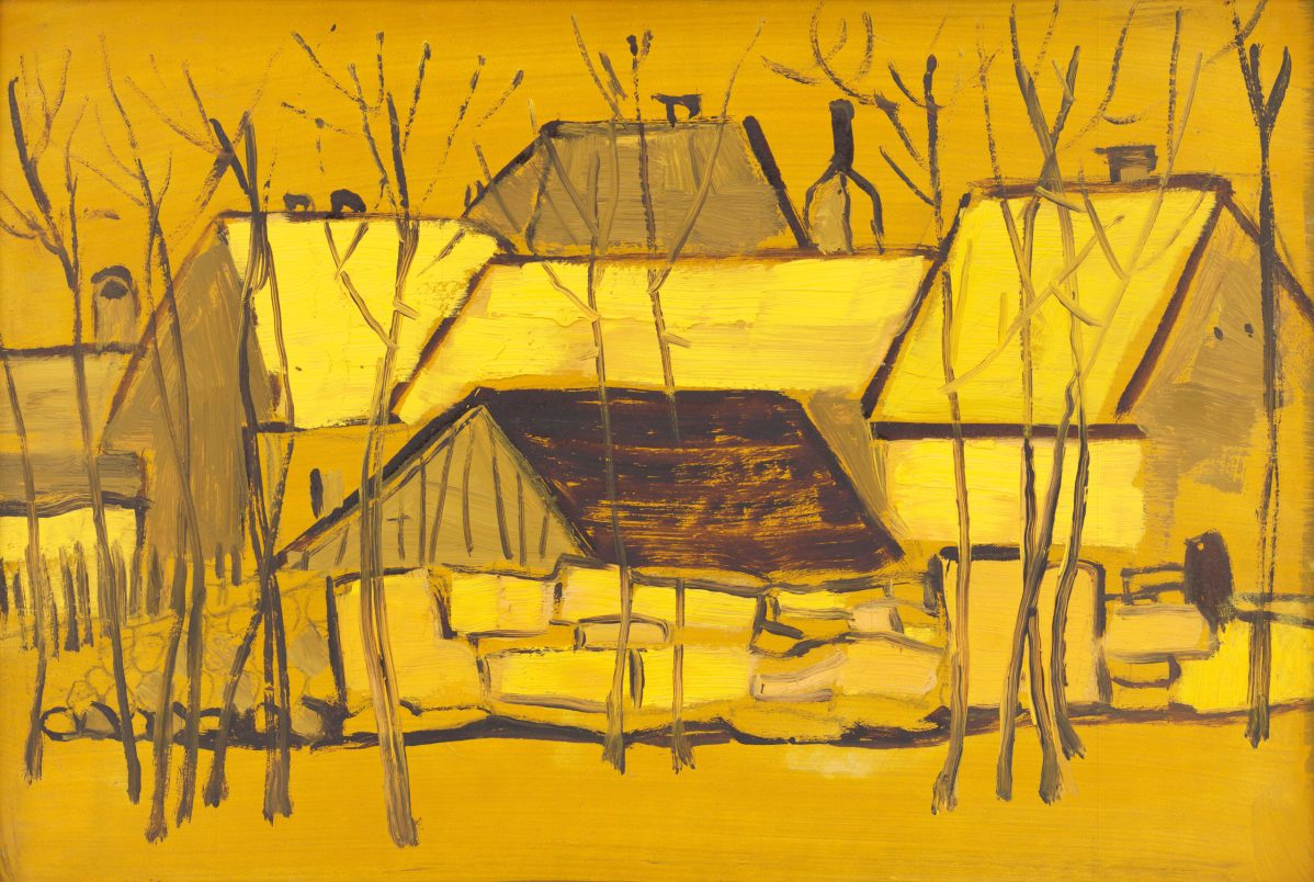 Michal Tillner - Domy v žltom