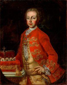 Neznámy barokový maliar - Portrét Jozefa II