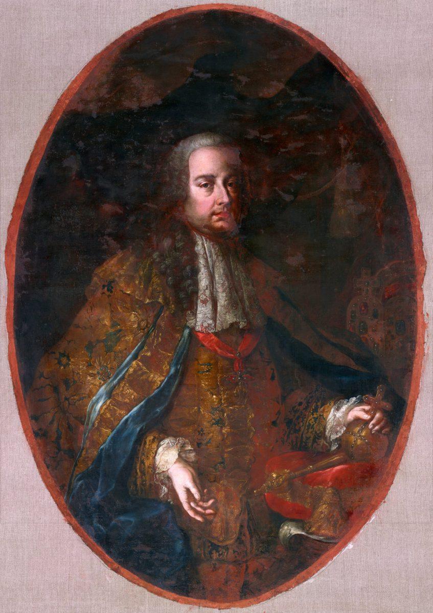 Neznámy barokový maliar - Portrét šľachtica