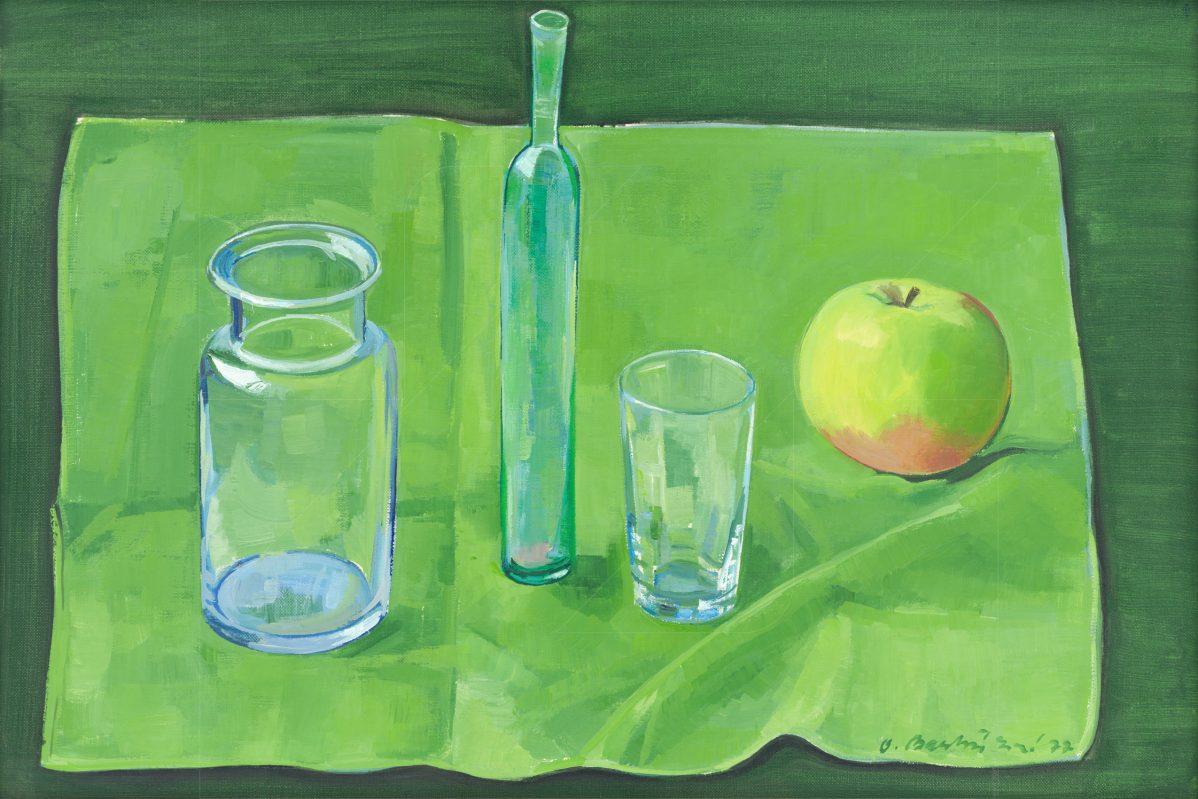 Oľga Bartošíková - Fľašky a jablko