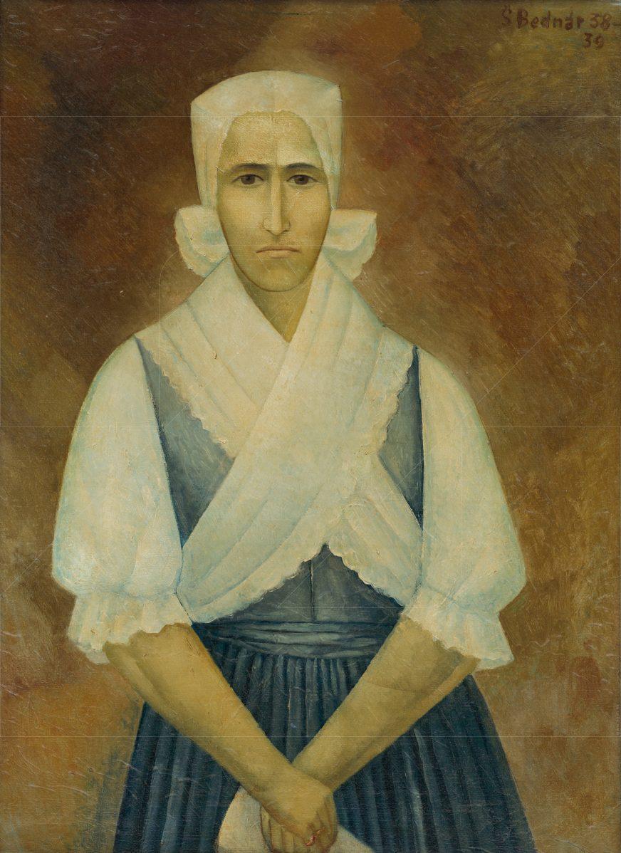Štefan Bednár - Myjavka (Portrét matky)