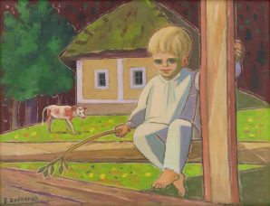 Štefan Bednár - Plavovlasý chlapček