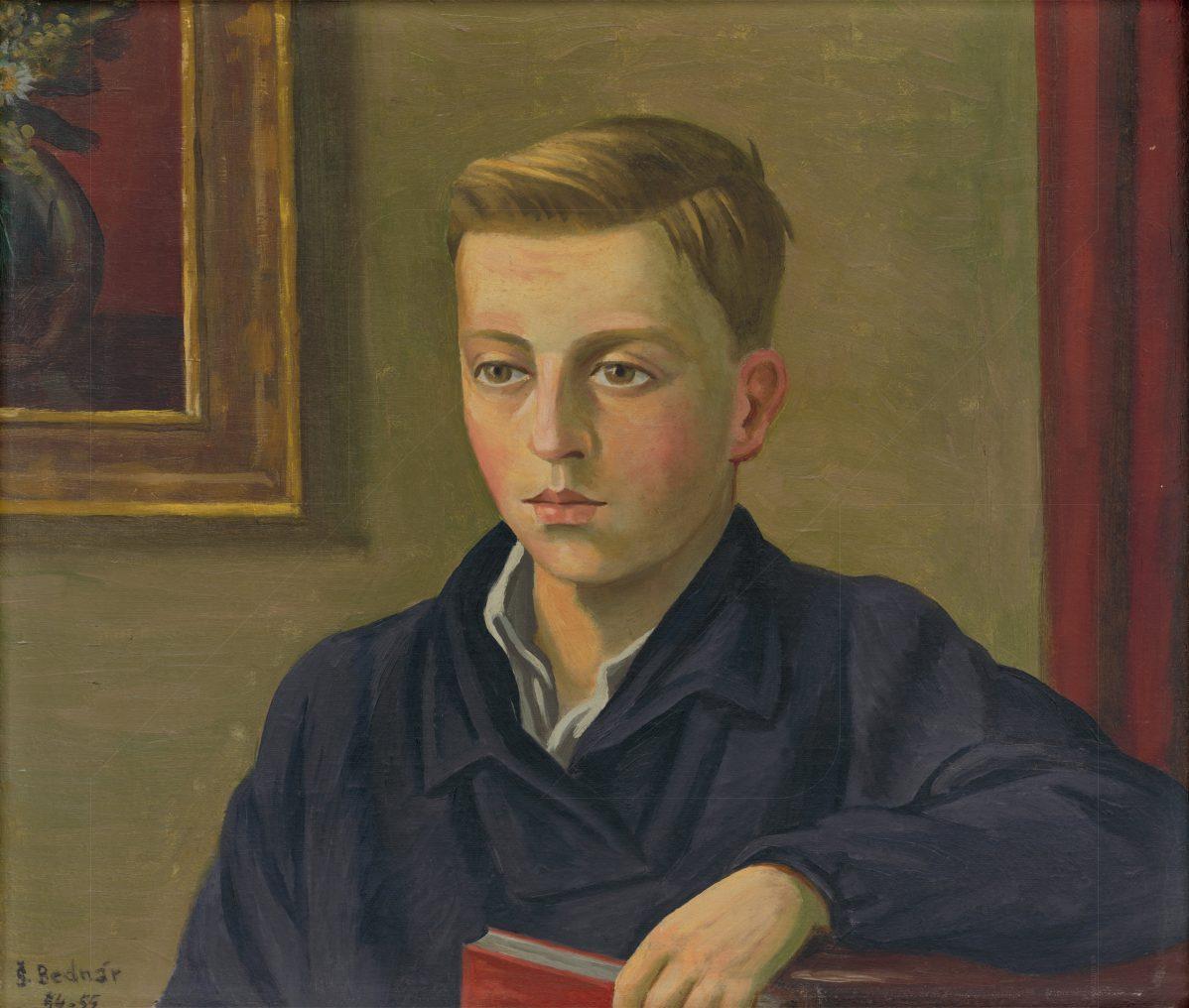 Štefan Bednár - Podobizeň V.B.