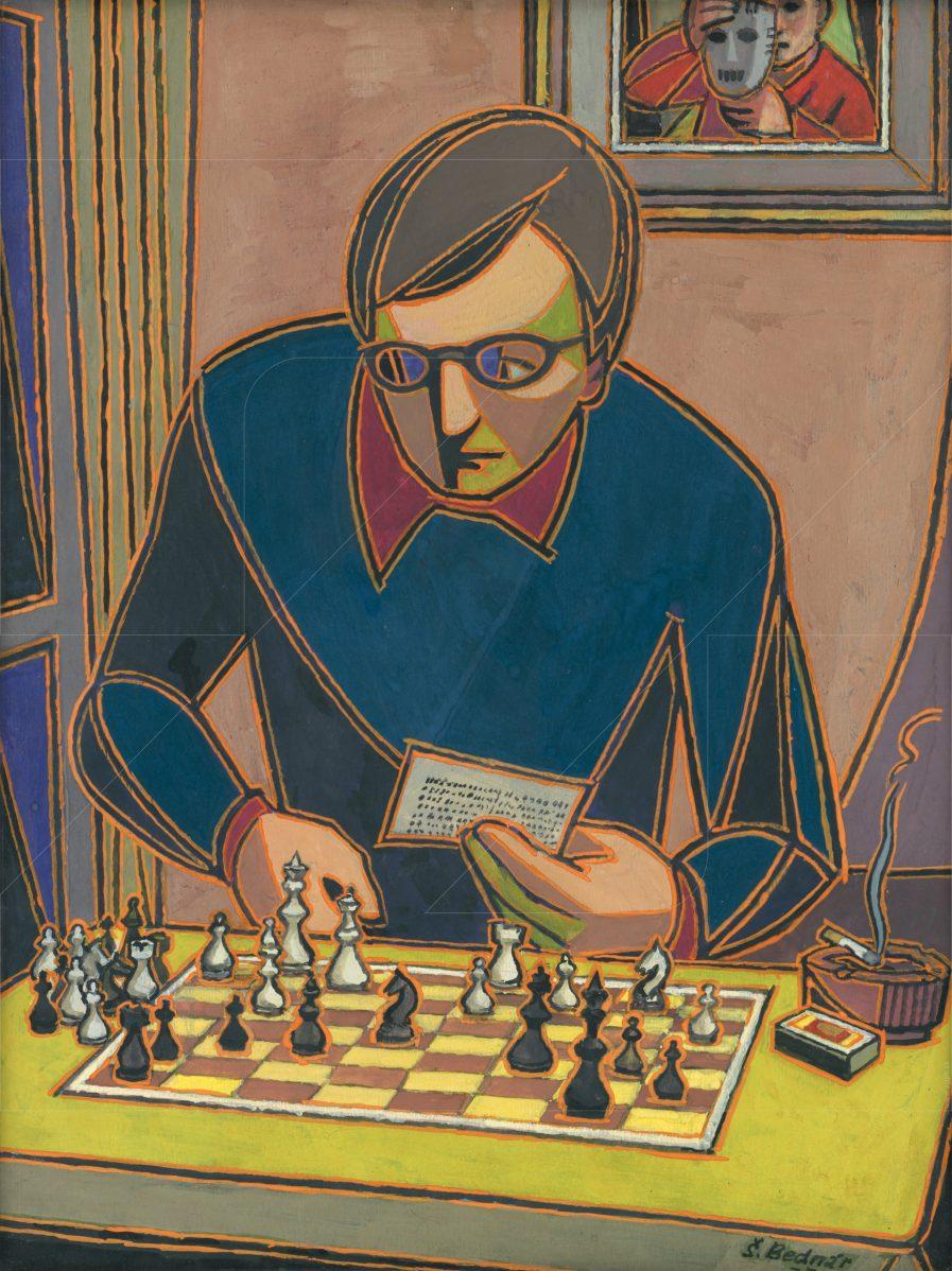 Štefan Bednár - Syn hrá šach